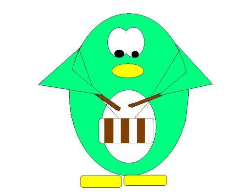 Penguin Art Work4